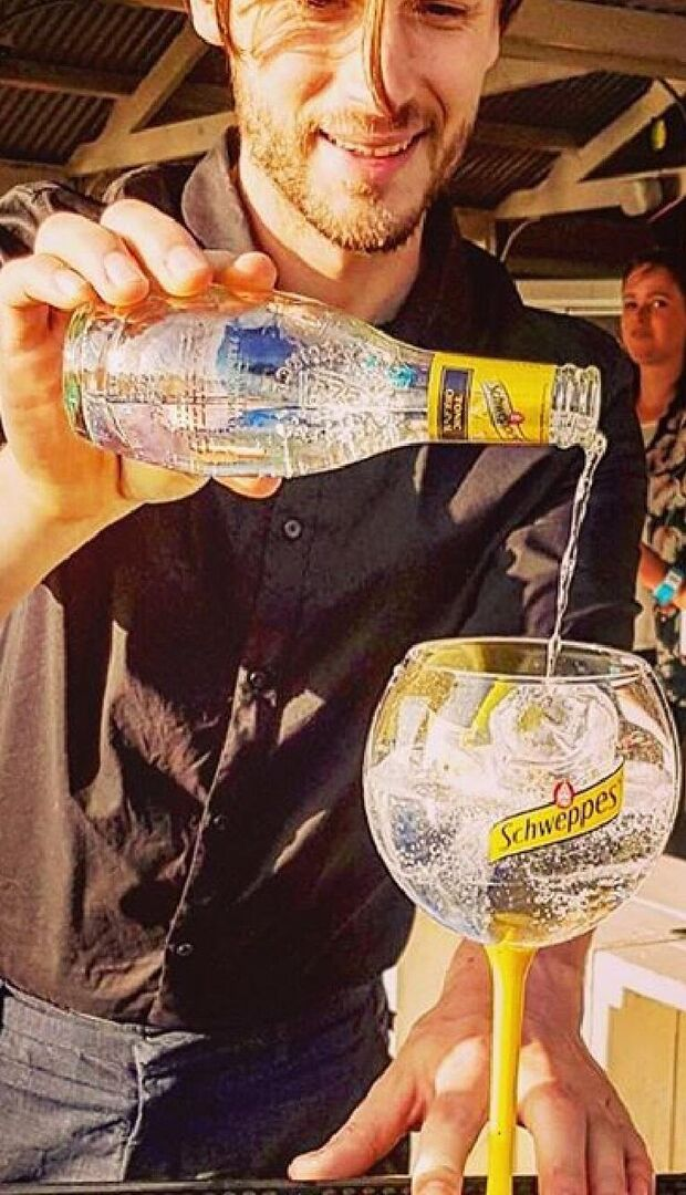 Cheers to Schweppes